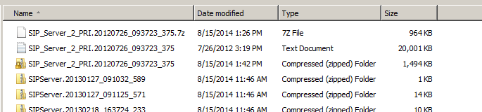 Compression difference between 7z and zip format