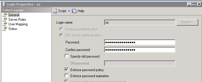 sa_password